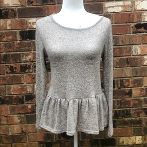 Gray Gaze Sweater
